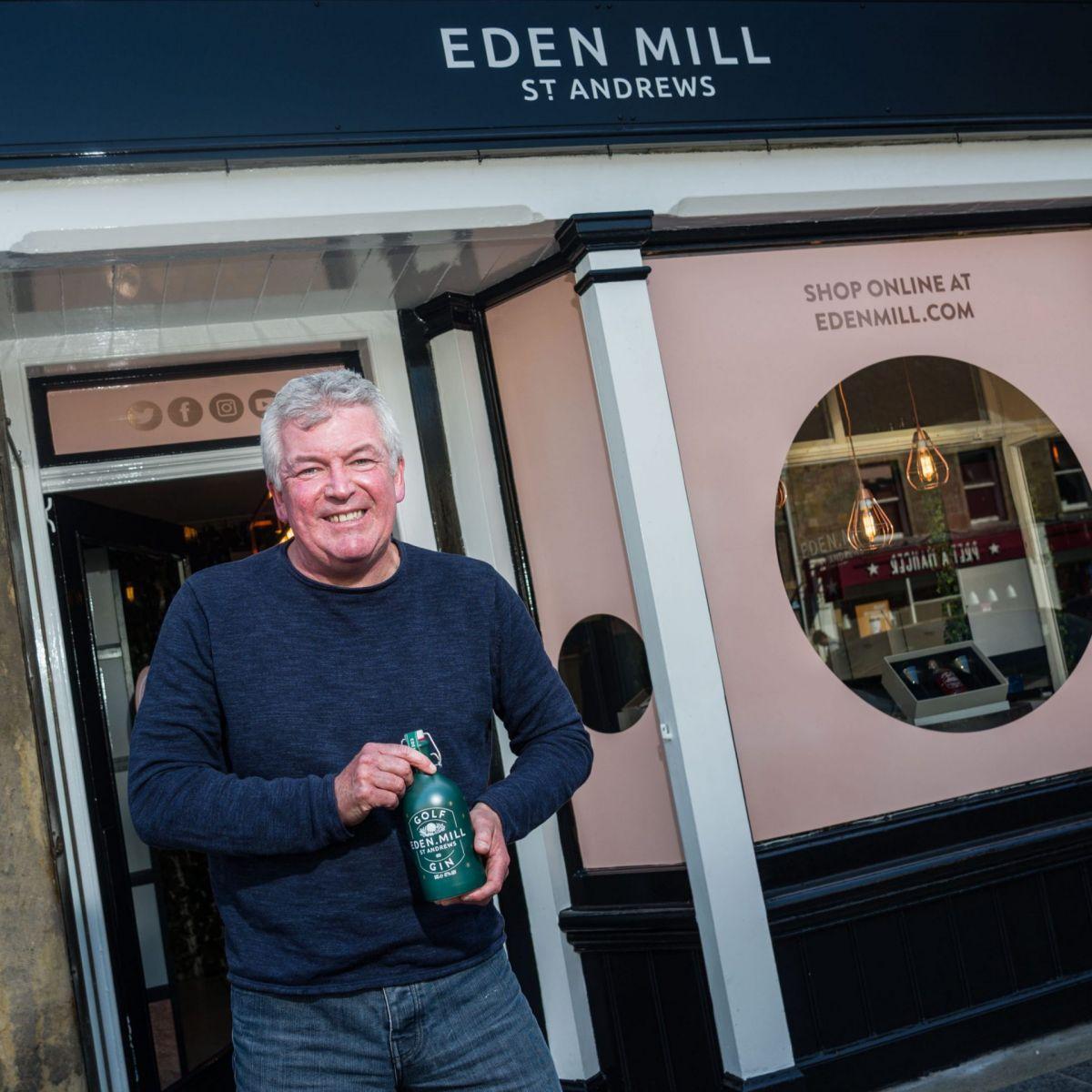 Paul Miller founder of Eden Mill