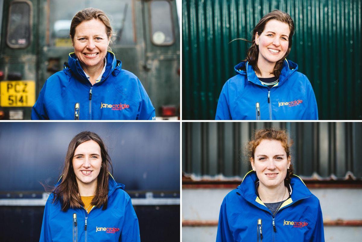Jane Craigie Marketing team
