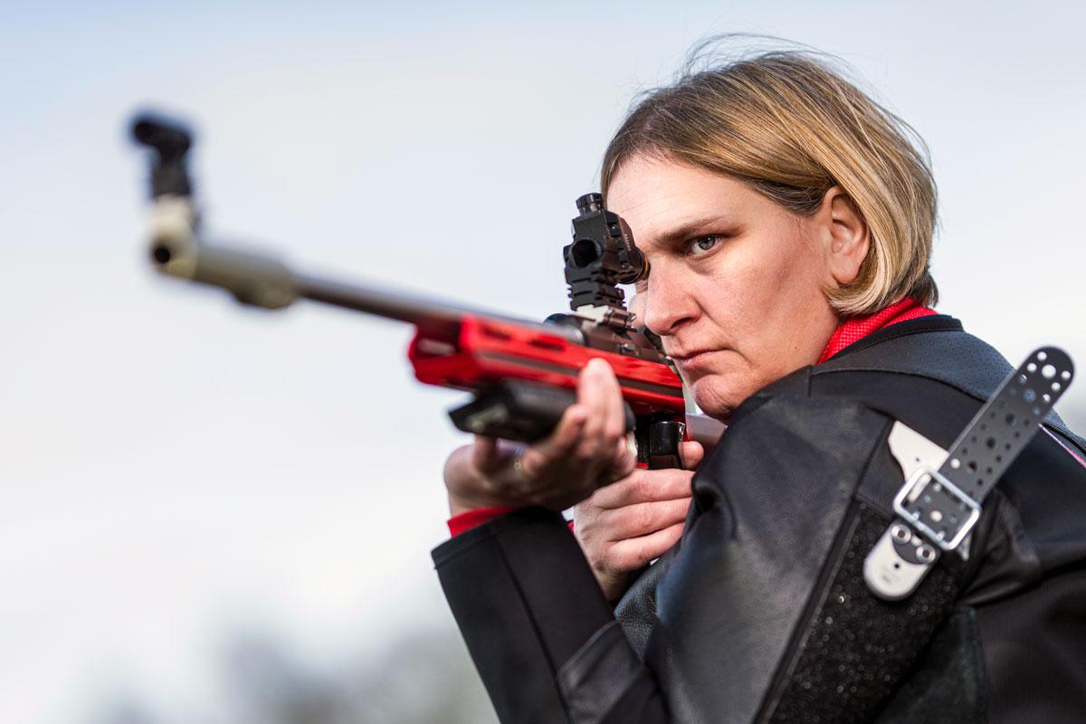 Lesley Stewart shooter