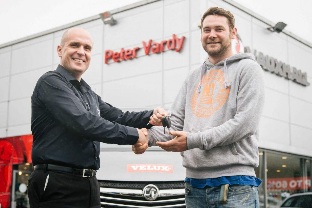Velux / Vauxhall van winner