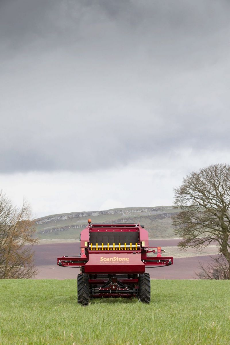 Agricultural machinery photography