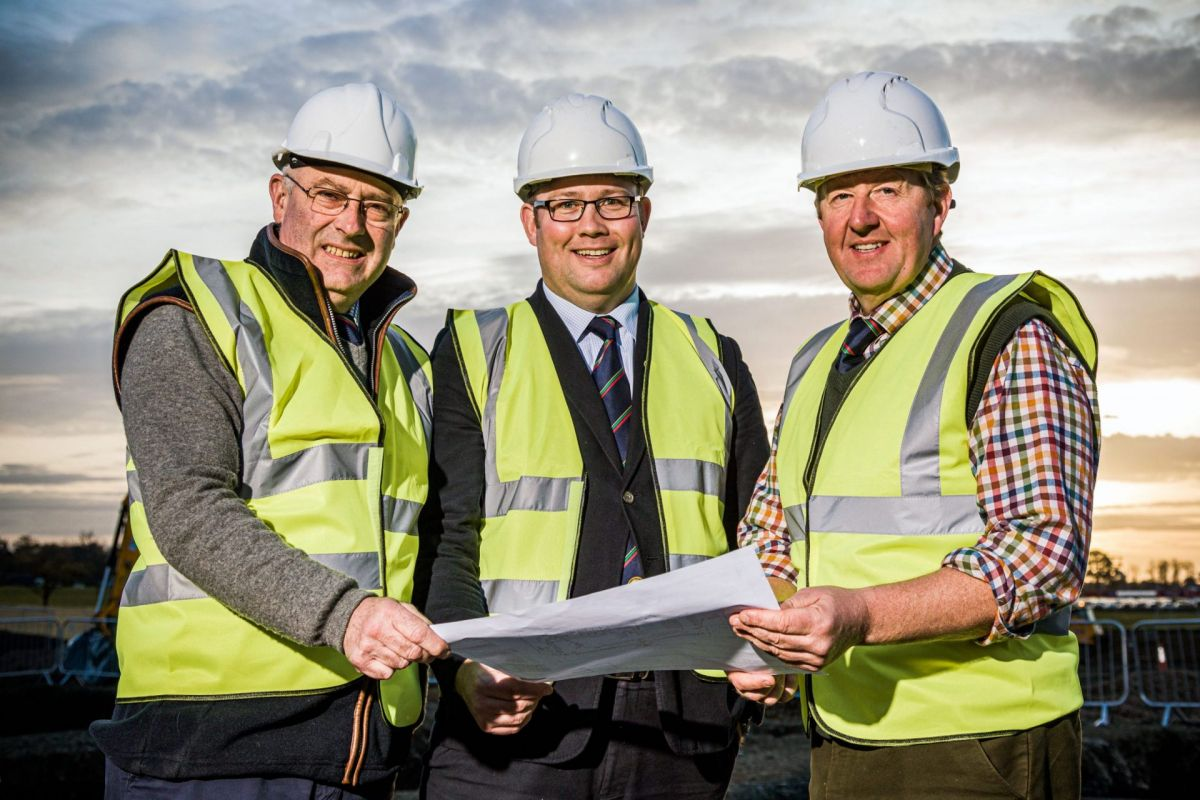 RHASS building project team