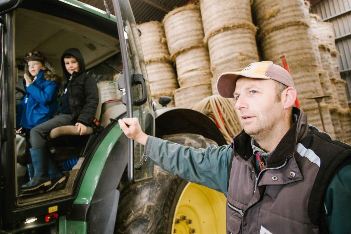 RHET farm visit photography