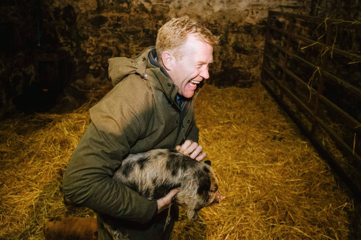 RHET / Adam Henson farm visit photography