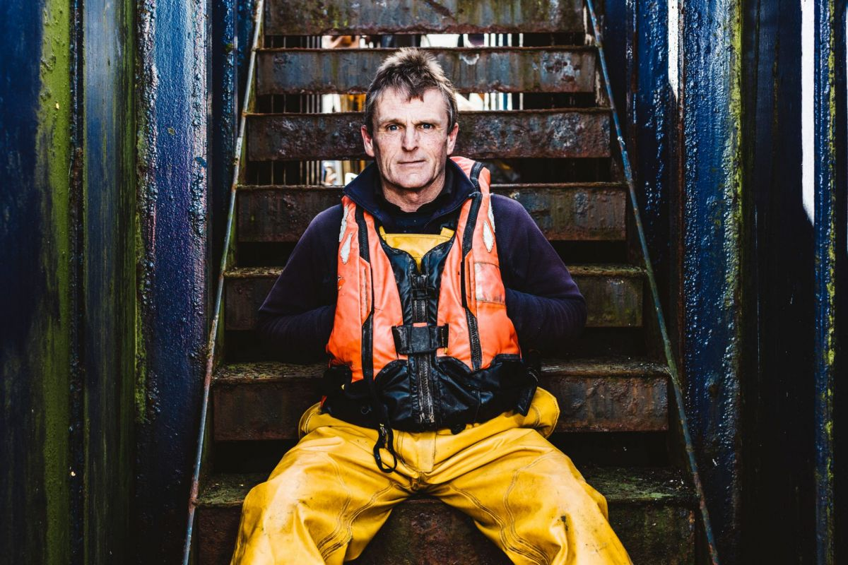 Scottish salmon farmer